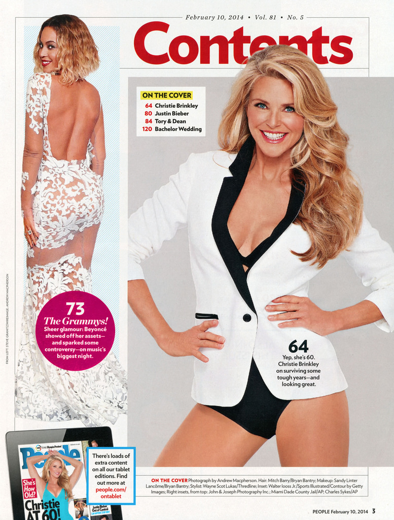 No Chanel for Christie Brinkley