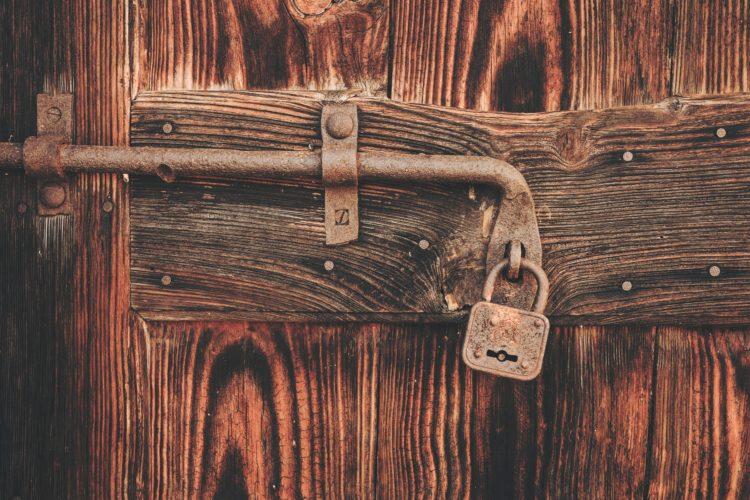 locked door keys missing