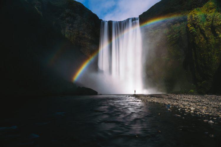 beautiful rainbow island