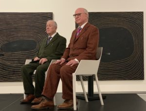Gilbert and George and Bodil Fuhr, bodilfuhr.no