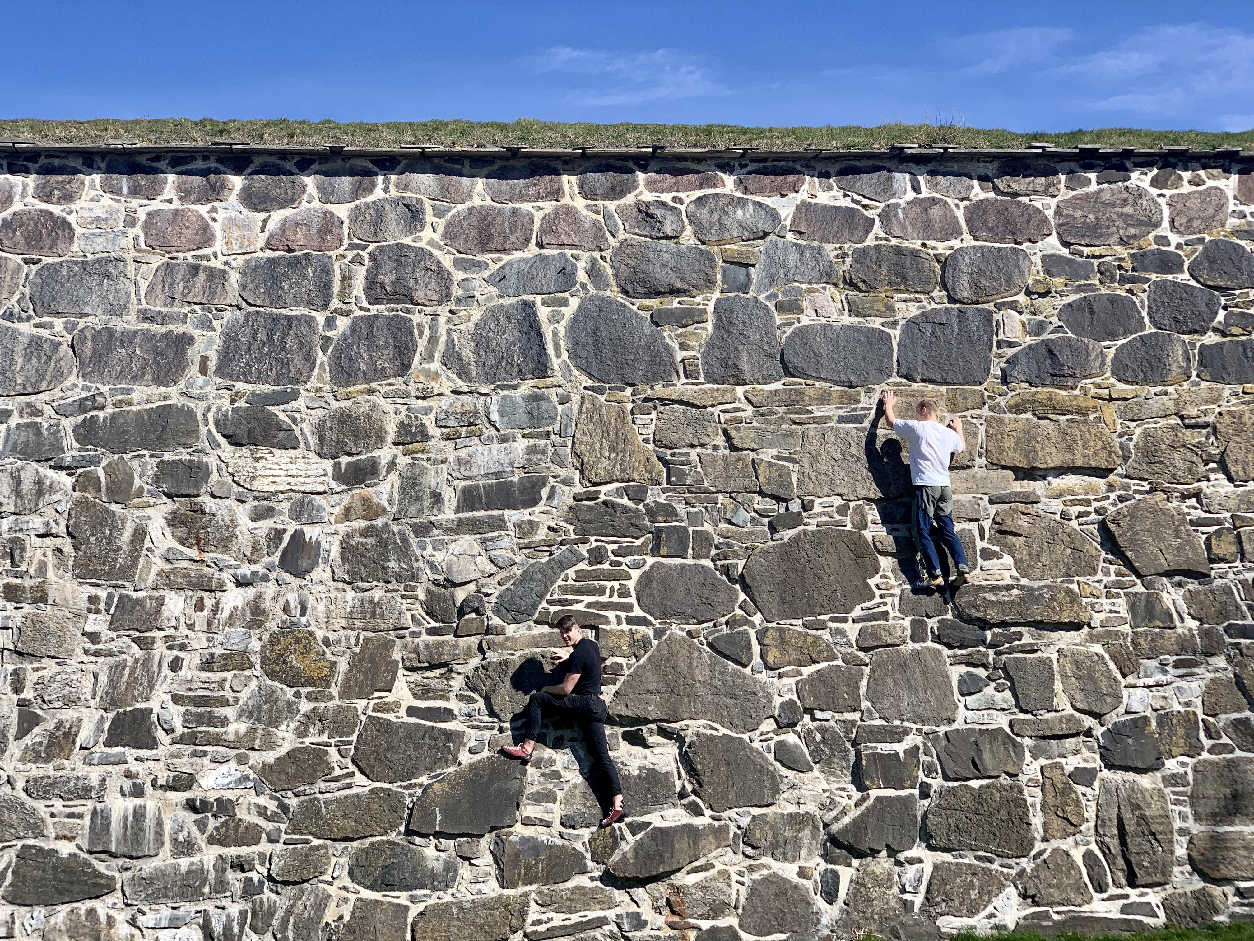 akershus-festning-bestiges-fjellklatring